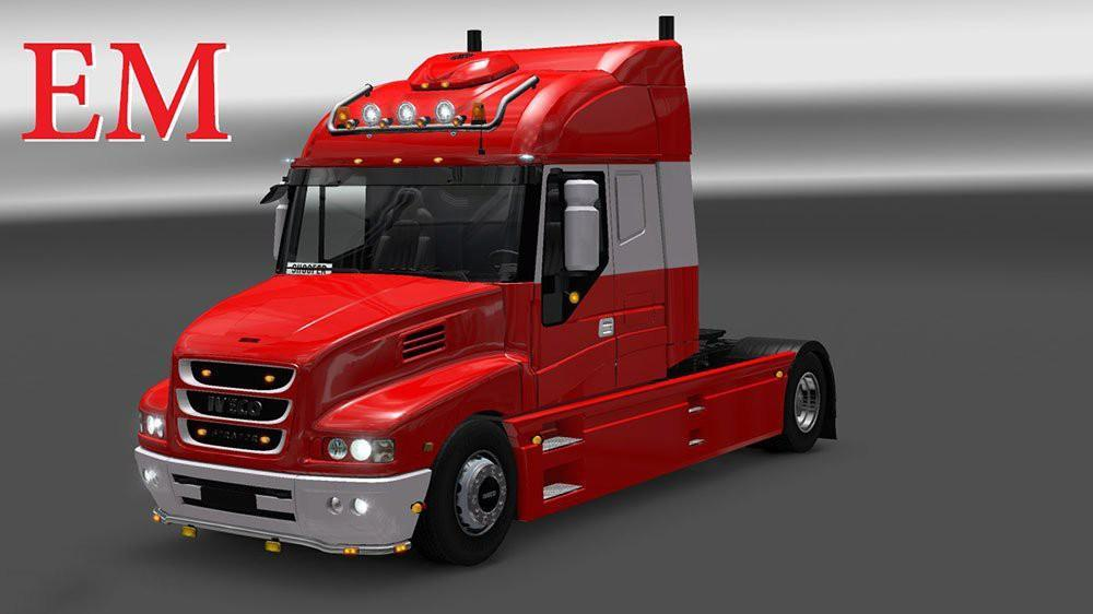 Iveco strator and volvo fh 2013 tuning euro truck simulator 2 mods - Iveco Strator And Volvo Fh 2013 Tuning 187 Gamesmods Net