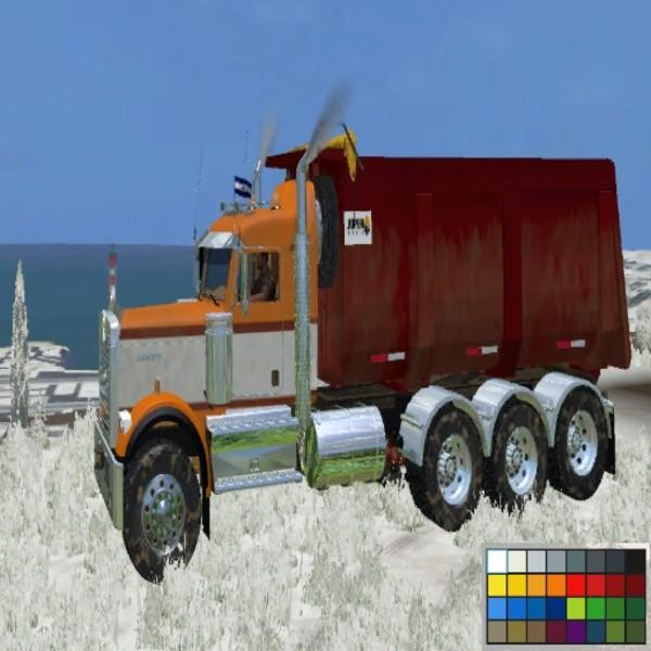 KENWORTH W900B V 1.0 » GamesMods.net - FS19, FS17, ETS 2 modsKenworth Dump Trucks Fs19