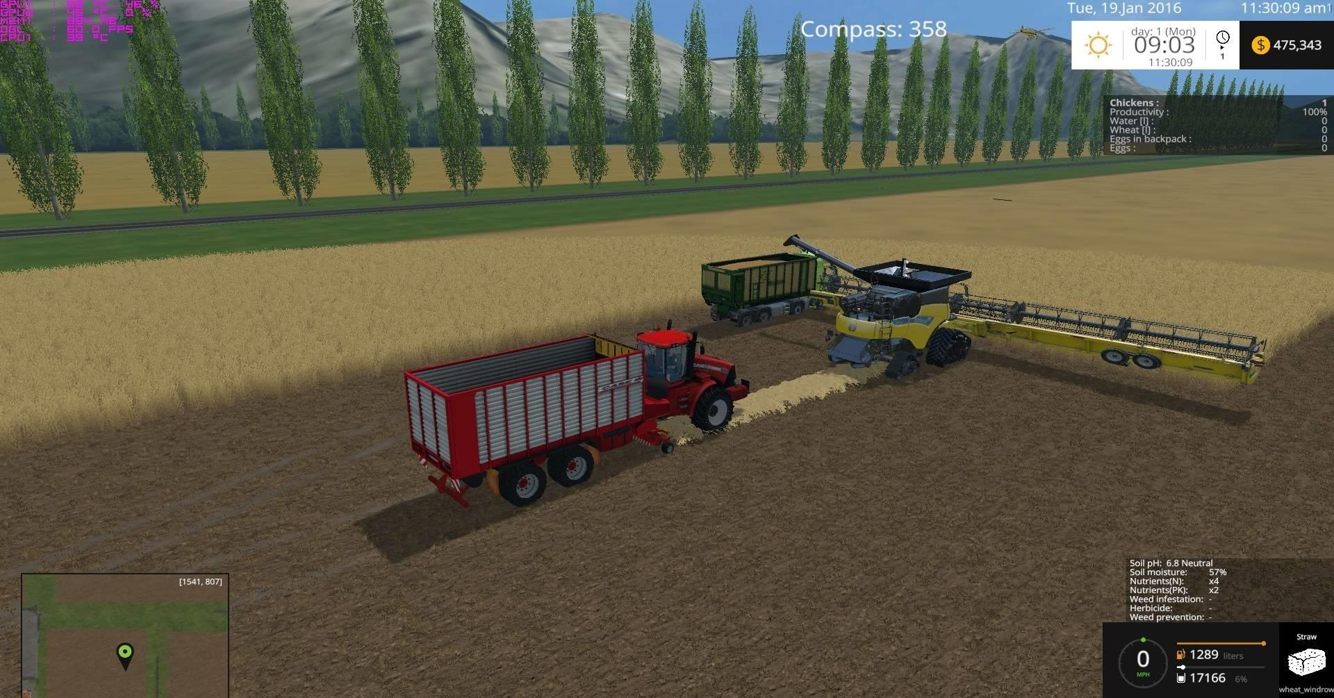 Canadian Map Fs17%0A Canadian Prairies Map with SoilMod