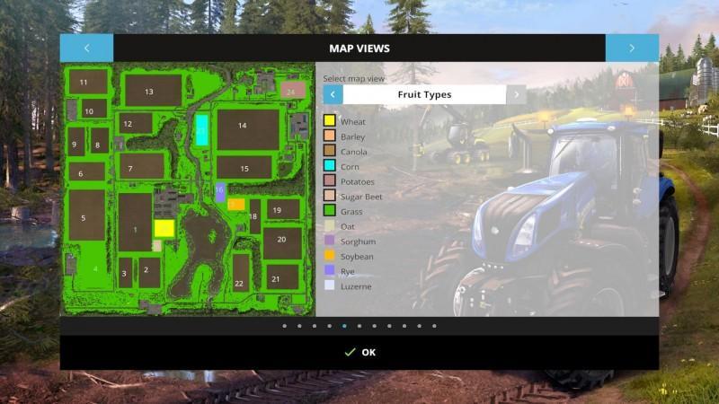 Lakeside USA Map V GamesModsnet FS CNC FS ETS Mods - Fs15 us maps