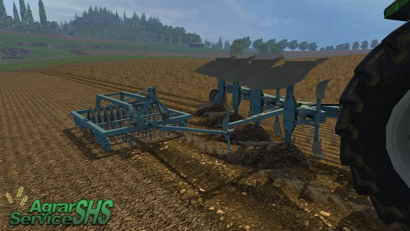 Brenig Plow With Packer V 2 0 » GamesMods net - FS19, FS17