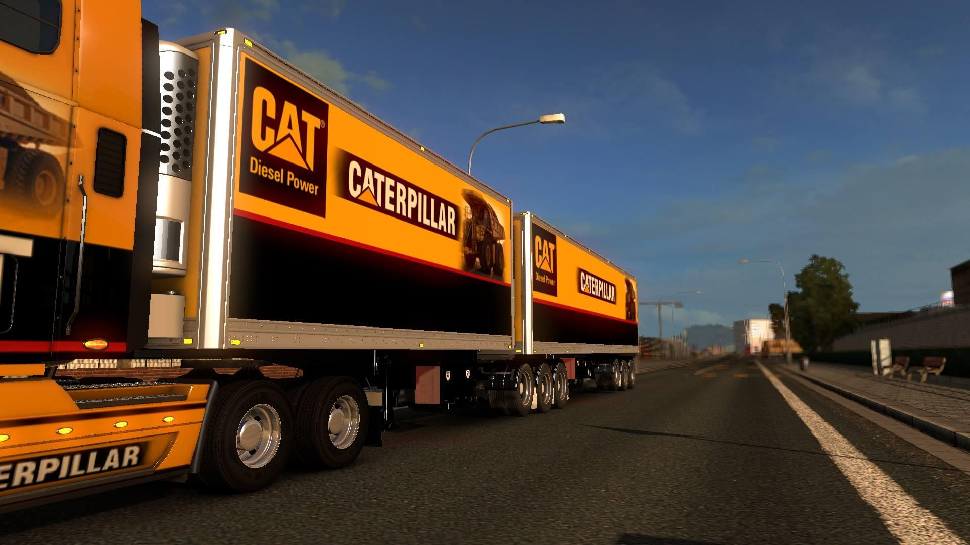 B-DOUBLES CATERPILLAR TRAILERS 1.22