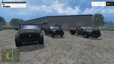 Dodge Ram Pack 187 Gamesmods Net Fs17 Cnc Fs15 Ets 2 Mods