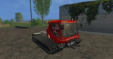 PISTENBULLY 100 & 400 WITH PLOW V1.0