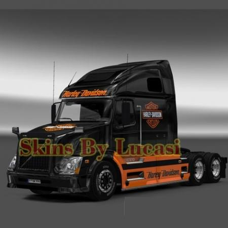 volvo 670 harley davidson skin fs17 cnc. Black Bedroom Furniture Sets. Home Design Ideas