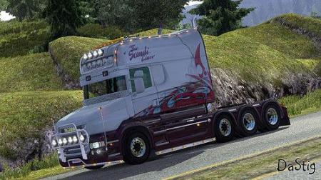 SCANIA RJL THE SCANDI LINER SKIN PACK 1.22
