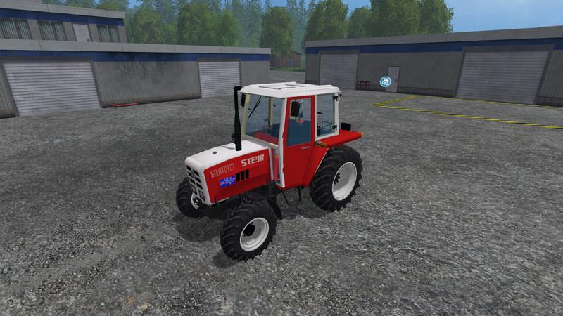 Steyr single cylinder tractor