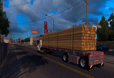 FONTAINE PHANTOM FLATBED TRAILER V1.1