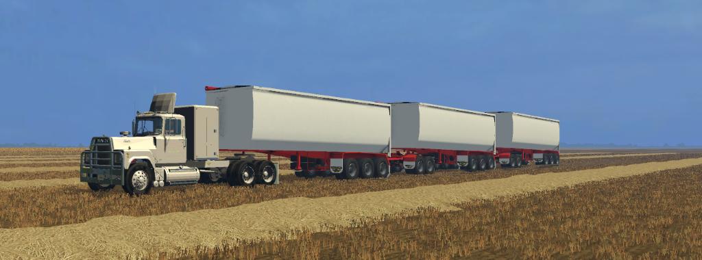 Roadwest trailer TRI350BT » GamesMods.net - FS17, CNC, FS15, ETS 2 mods