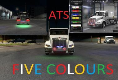 ATS NEON – FIVE COLORS