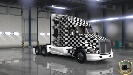 KENWORTH T680 SPEED SKIN V1.0.0