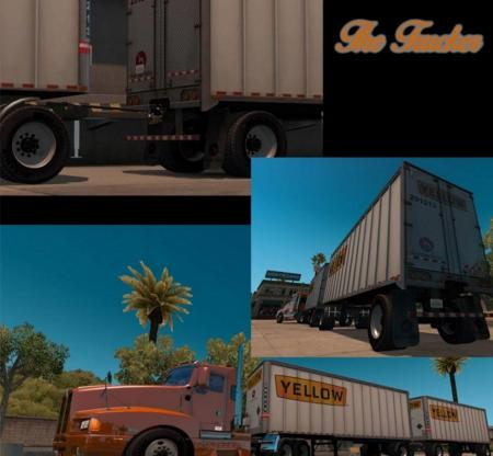 Double Box Trailer for ATS 22