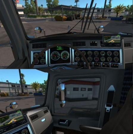 Kenworth T800 Interior