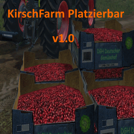 KirschFarm By Kastor placeable v1.0