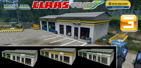 Dealership Pack Of 4 Brands For Giant V 1.0 Giant