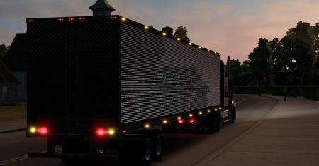 Chrome Long Reefer Trailer