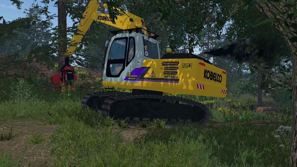 materiel forestier farming simulator 2017