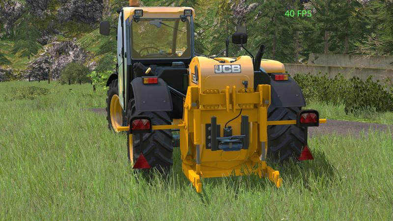 JCB LOADALL 536 70 With Rear Hydraulics V 1.0 » GamesMods ...