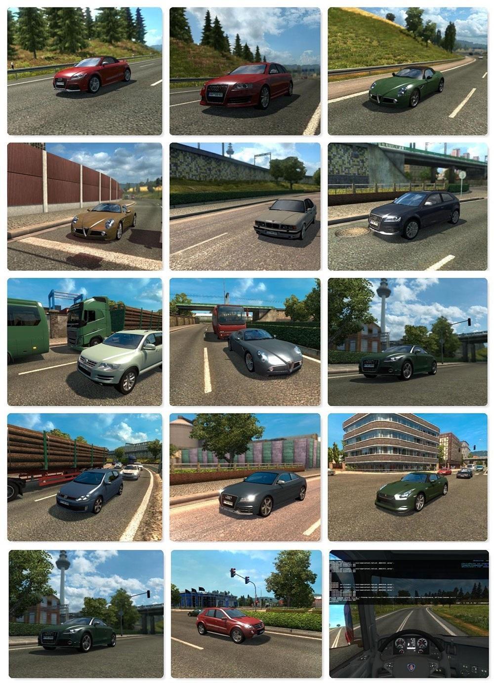 AI Traffic Mod Pack v 1 22 2 » GamesMods net - FS19, FS17