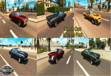 CLASSIC CARS AI TRAFFIC PACK BY JAZZYCAT V1.0