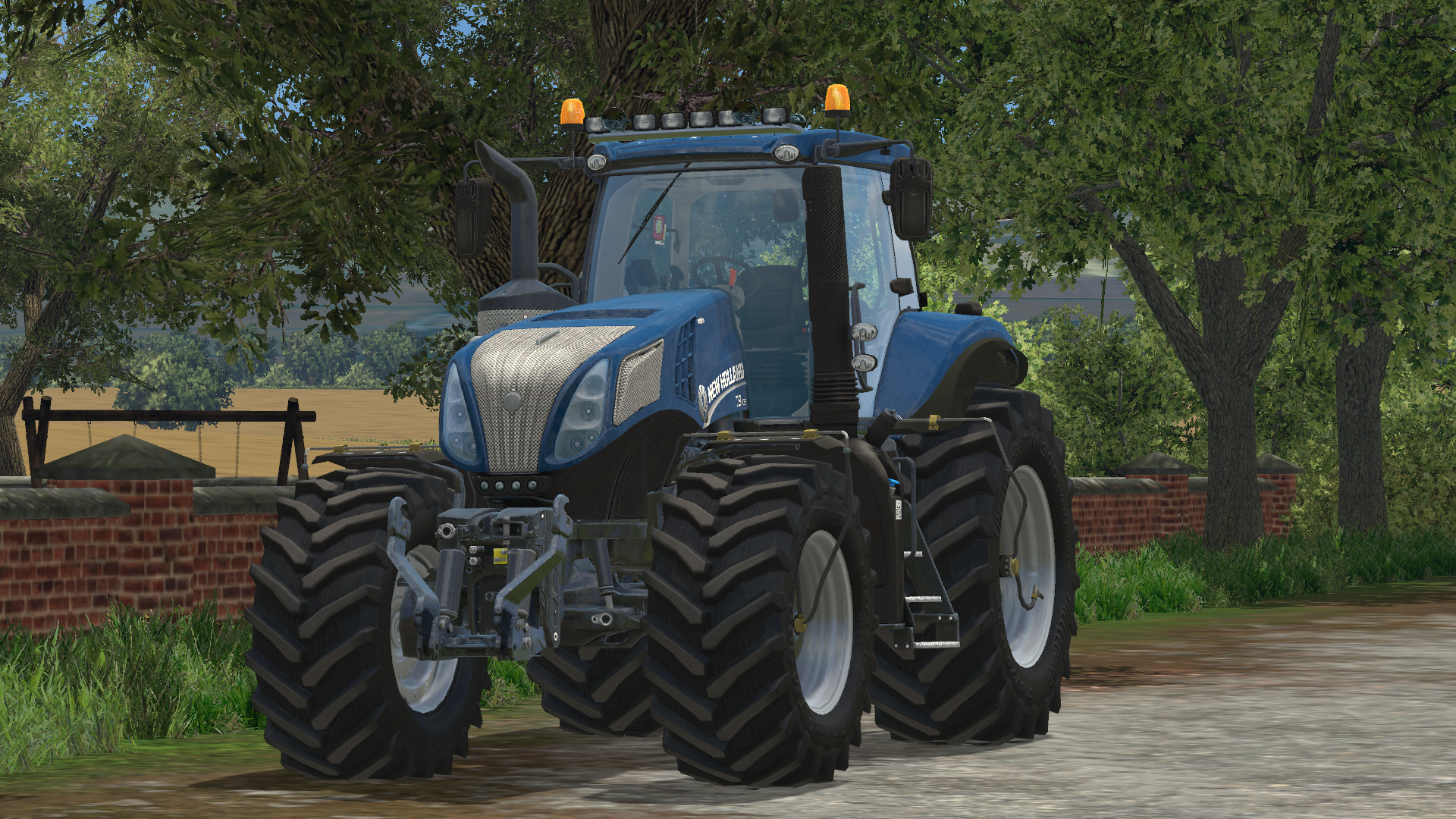 New Holland T8 420 Bluepower 187 Gamesmods Net Fs17 Cnc