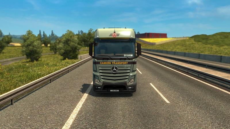 camion transport mercedes actros 2014 v 2 2 gamesmods. Black Bedroom Furniture Sets. Home Design Ideas
