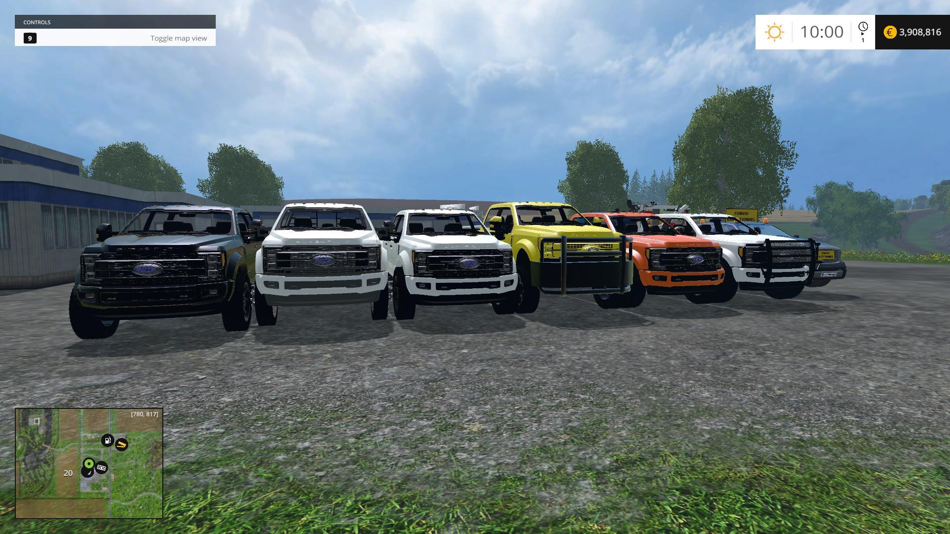 ALL 6 VERSIONS 2017 FORD F450 DUALLY V1 0 » GamesMods net - FS19