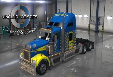 UNCLE D LOGISTICS GOODYEAR RACING KENWORTH W900 SKIN