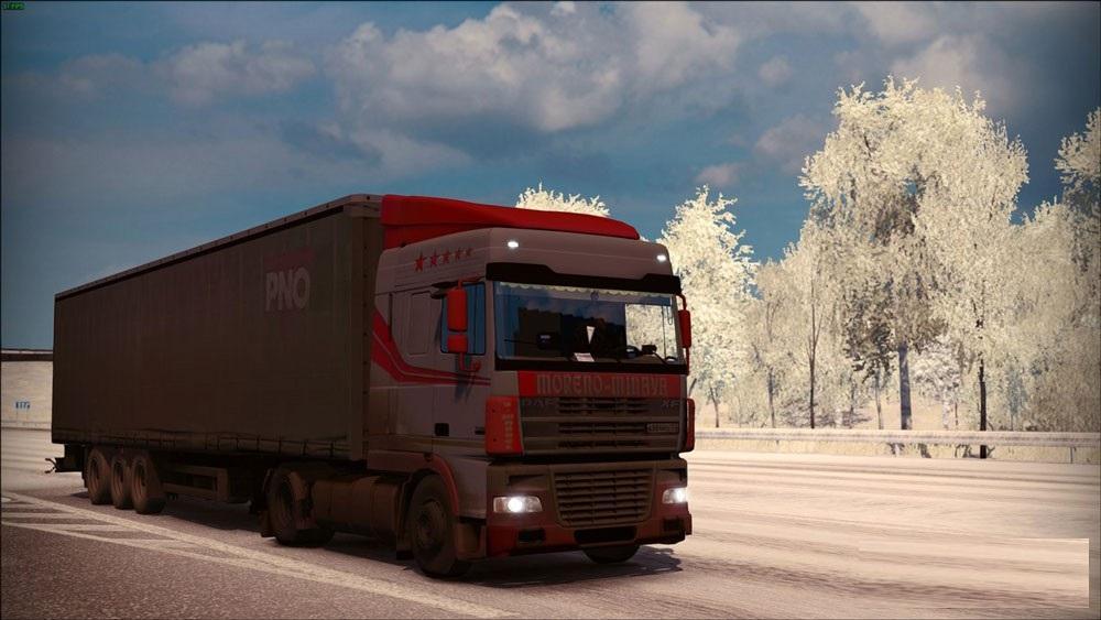 Ford Trucks 2016 >> DAF XF 95 » GamesMods.net - FS17, CNC, FS15, ETS 2 mods