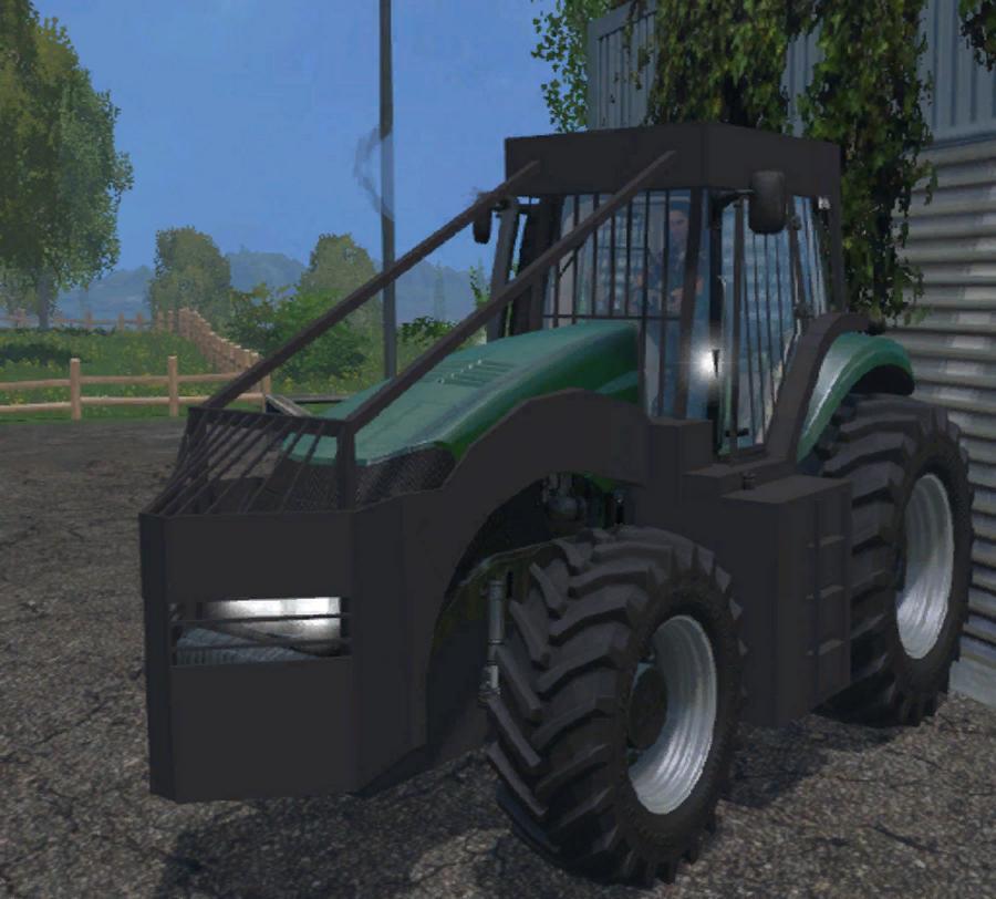 tracteur forestier fs17