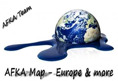 AFKA MAP - EUROPE & MORE V1.0