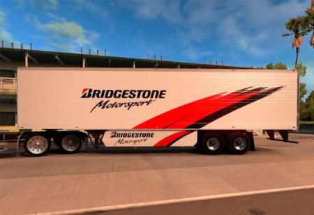 Trailer Bridgestone Motorsport