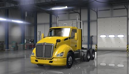 SCS Trucks Extra Bumpers and Parts v 1.2