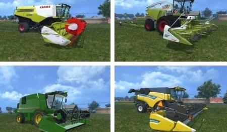 HARVESTERS COMBINES MODS PACK V1.0