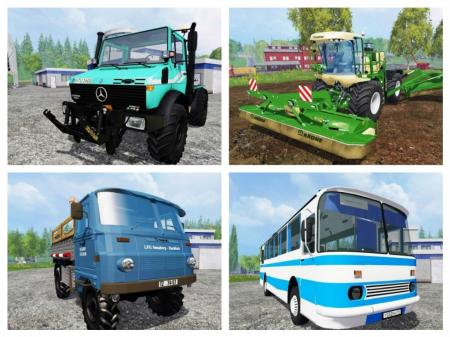FS15 Mods Pack V6
