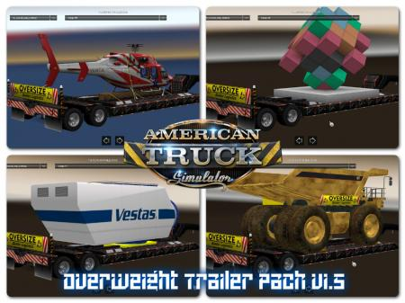Overweight Trailers 31 cargo