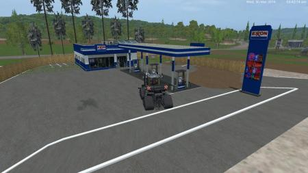 EXON PLACEABLE GAS STATION V1.0 BY EAGLE355TH