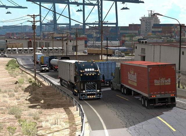 Traffic Mod – More trucks on road » GamesMods net - FS19