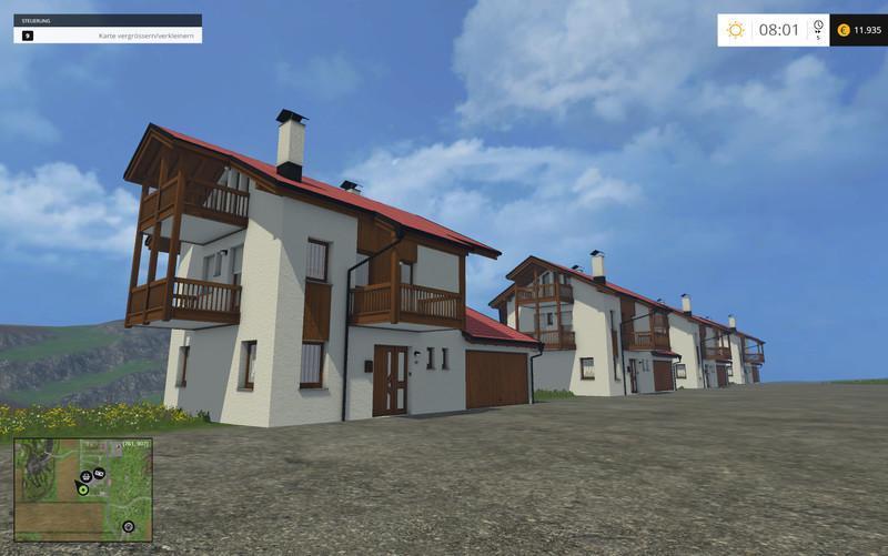 House With Garage V1 1 187 Gamesmods Net Fs19 Fs17 Ets 2
