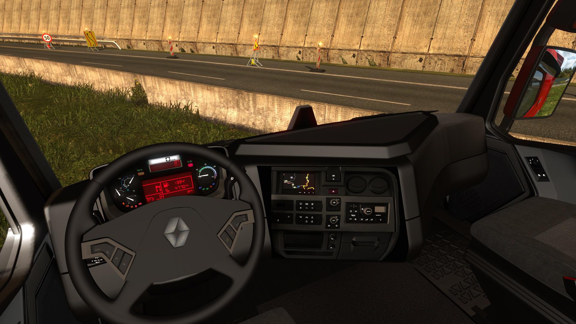 Renault range t fs17 cnc fs15 for Renault range t interieur