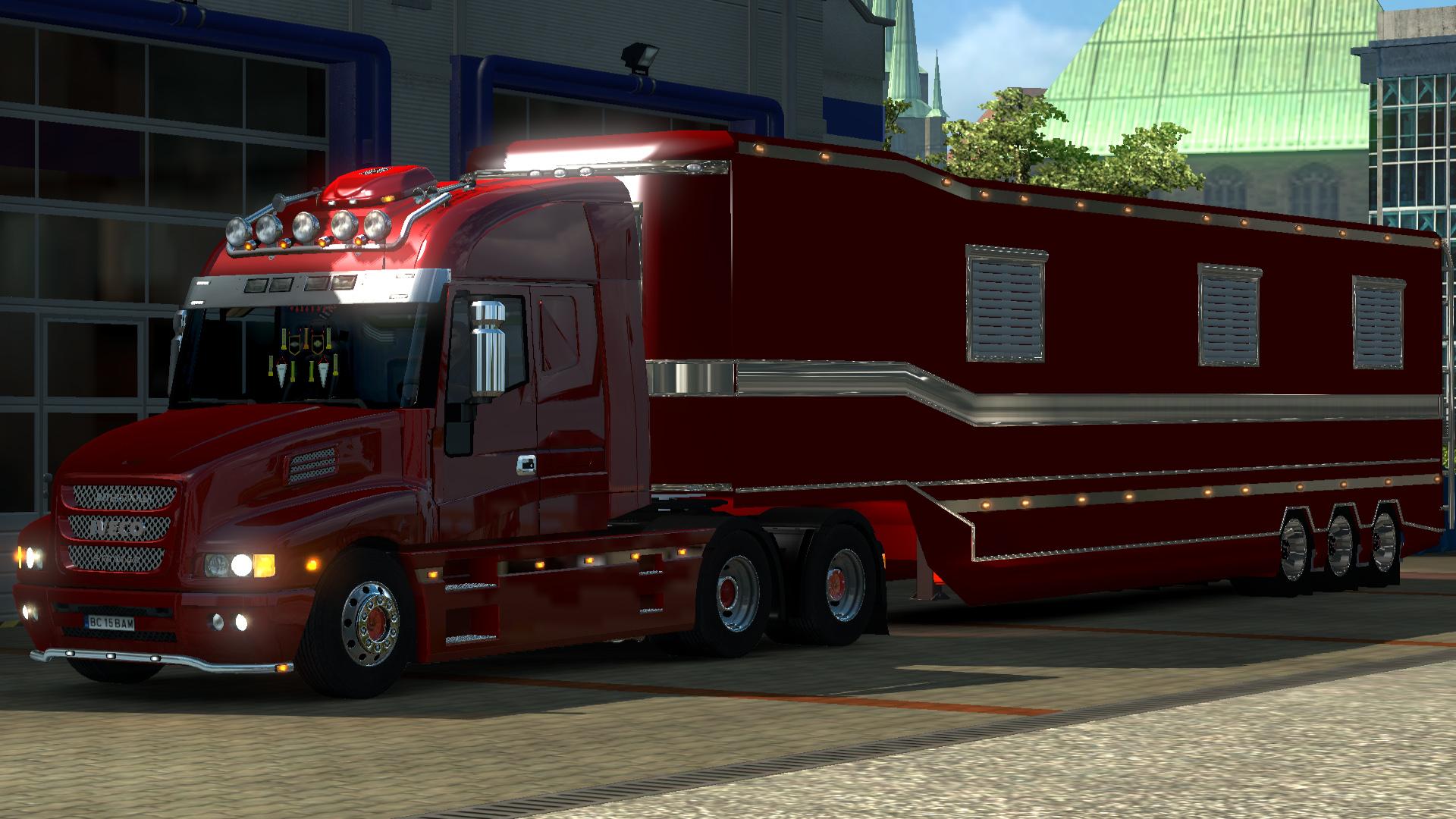iveco strator v2 5 caravan trailer gamesmods
