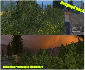 Cespugli Pack Placeable