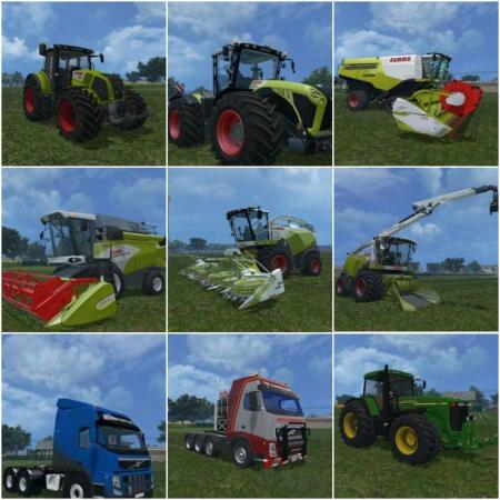 Pack Farming Simulator 2015 By Andrei New