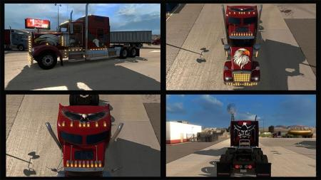Eagle Skin for Kenworth W900