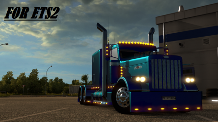 Peterbilt 389 Modified v 1.13 for ETS2