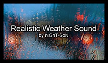 Realistic Weather Sound v 1.7.5