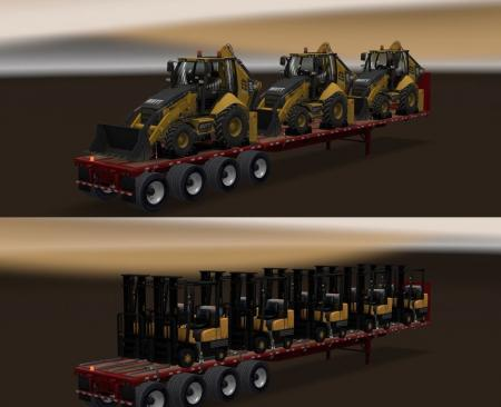 Long Flatbed Machinery Pack v 1.0