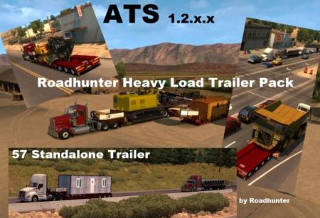 Roadhunter 57 Overweight Trailers Pack v 2.0