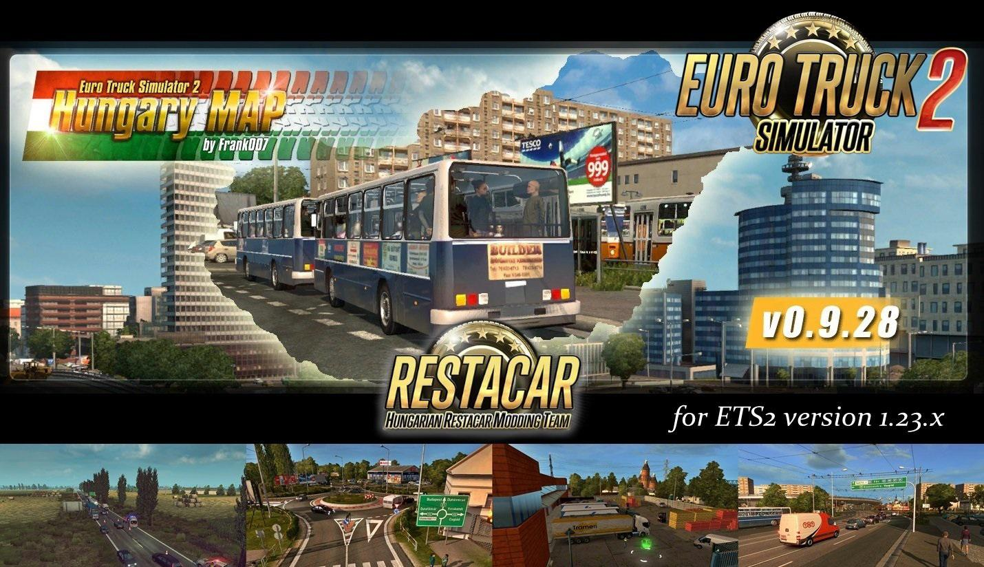 HUNGARY MAP V0 9 28 » GamesMods net - FS19, FS17, ETS 2 mods