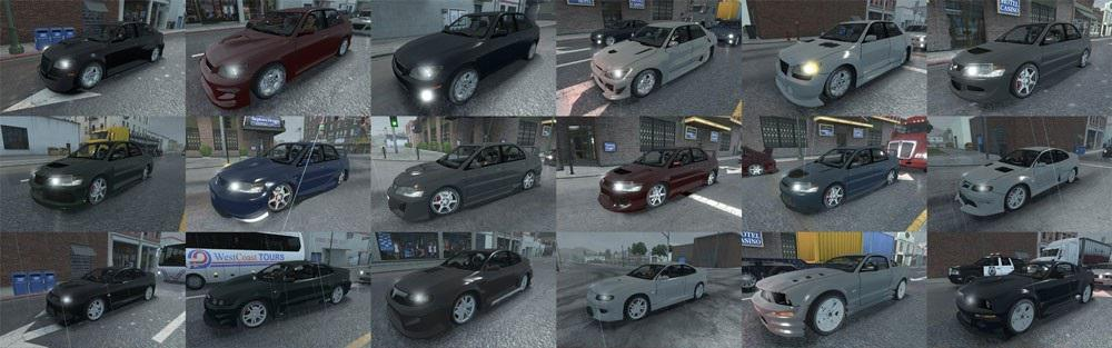 NFS: Most Wanted Traffic Pack FINAL » GamesMods.net - FS17 ...